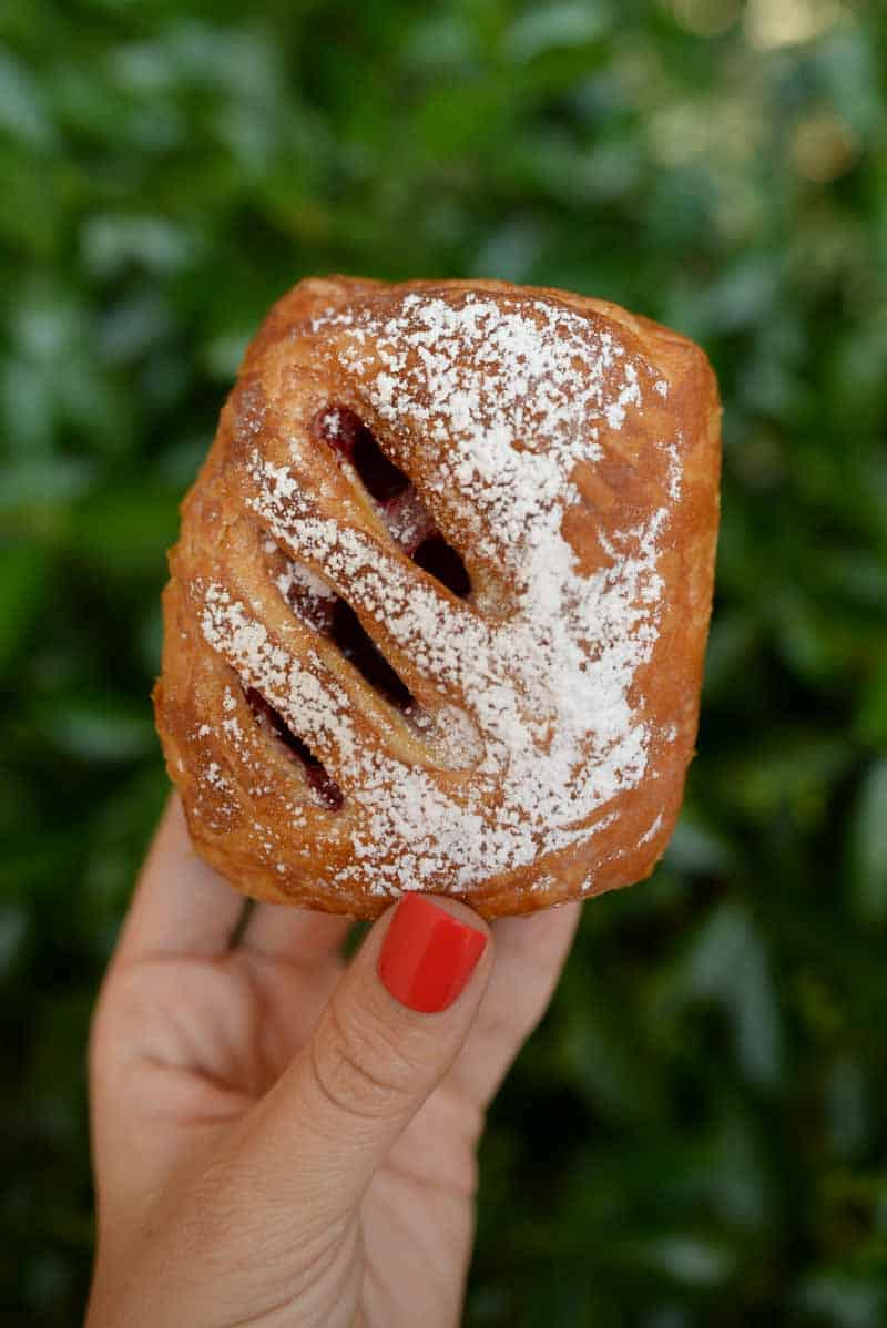 pastry from Violette's Bakery Cafe