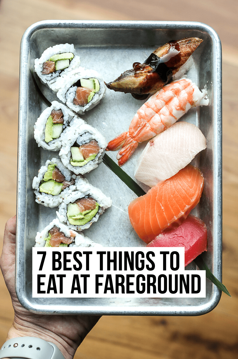 The ultimate guide to dining at Austin's new and incredible food hall, Fareground. Read our full post to see menu recommendations from every vendor!