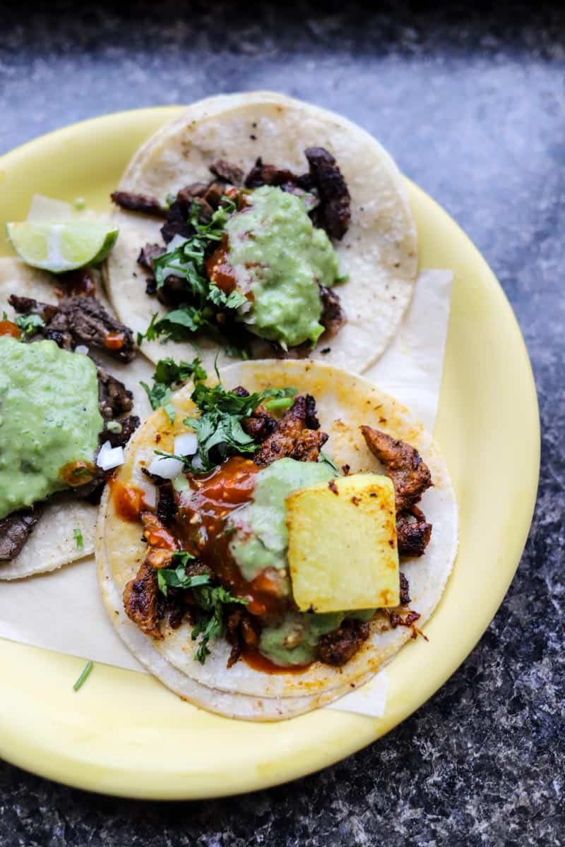 tacos from Tacos Chukis