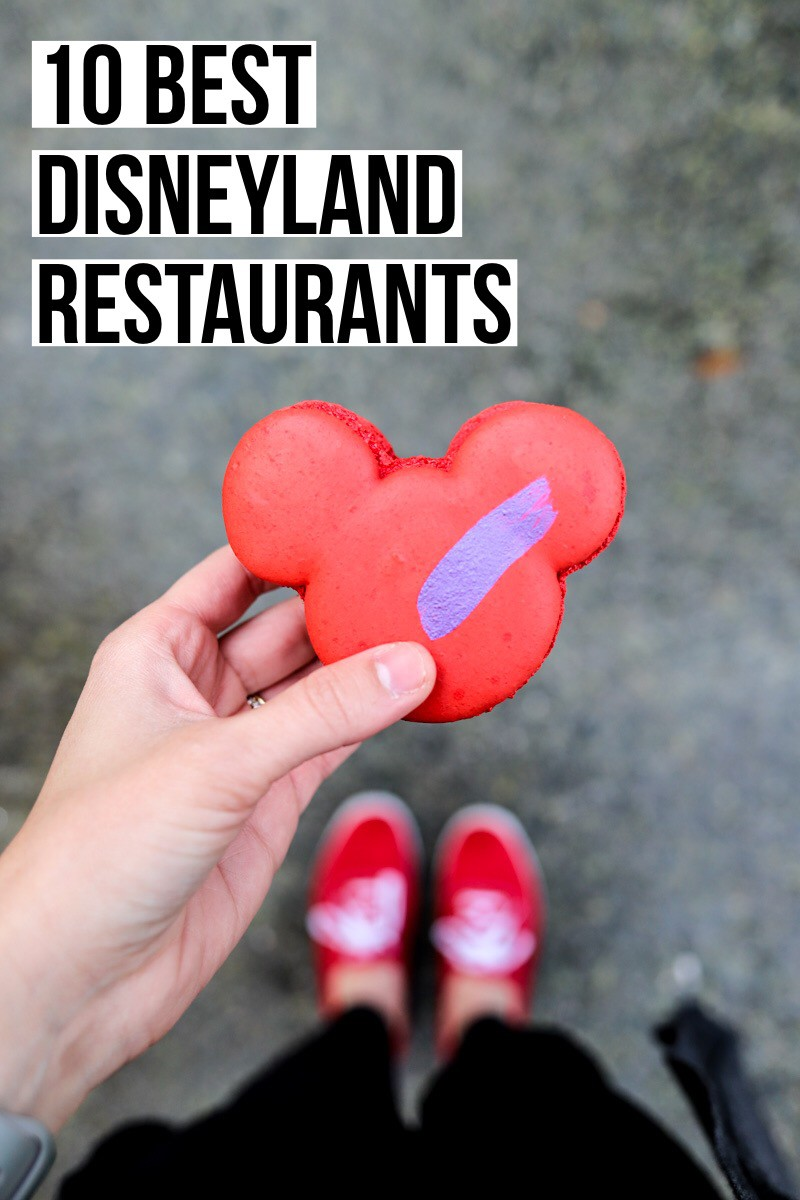 The best things to eat at Disneyland restaurants, food from low-key food carts to upscale dining in both Disneyland Park and Disney's California Adventure.