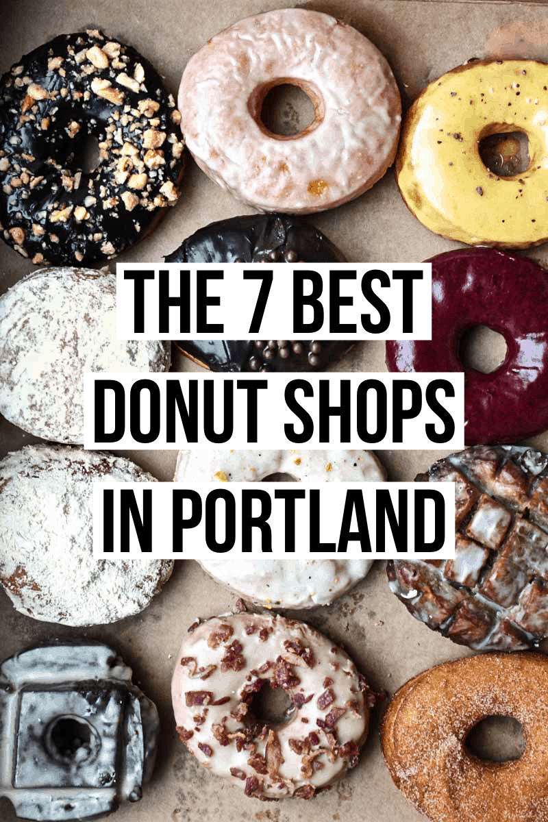 The ultimate guide to the best donuts in Portland! From gourmet donuts to old school buttermilk bars, we have you covered.