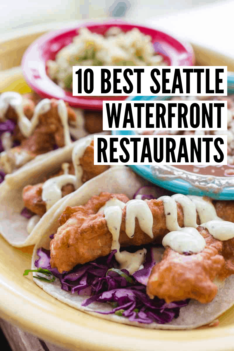 It's not impossible to have incredible views and incredible food in Seattle. Check out this post on the 10 best Seattle waterfront restaurants!