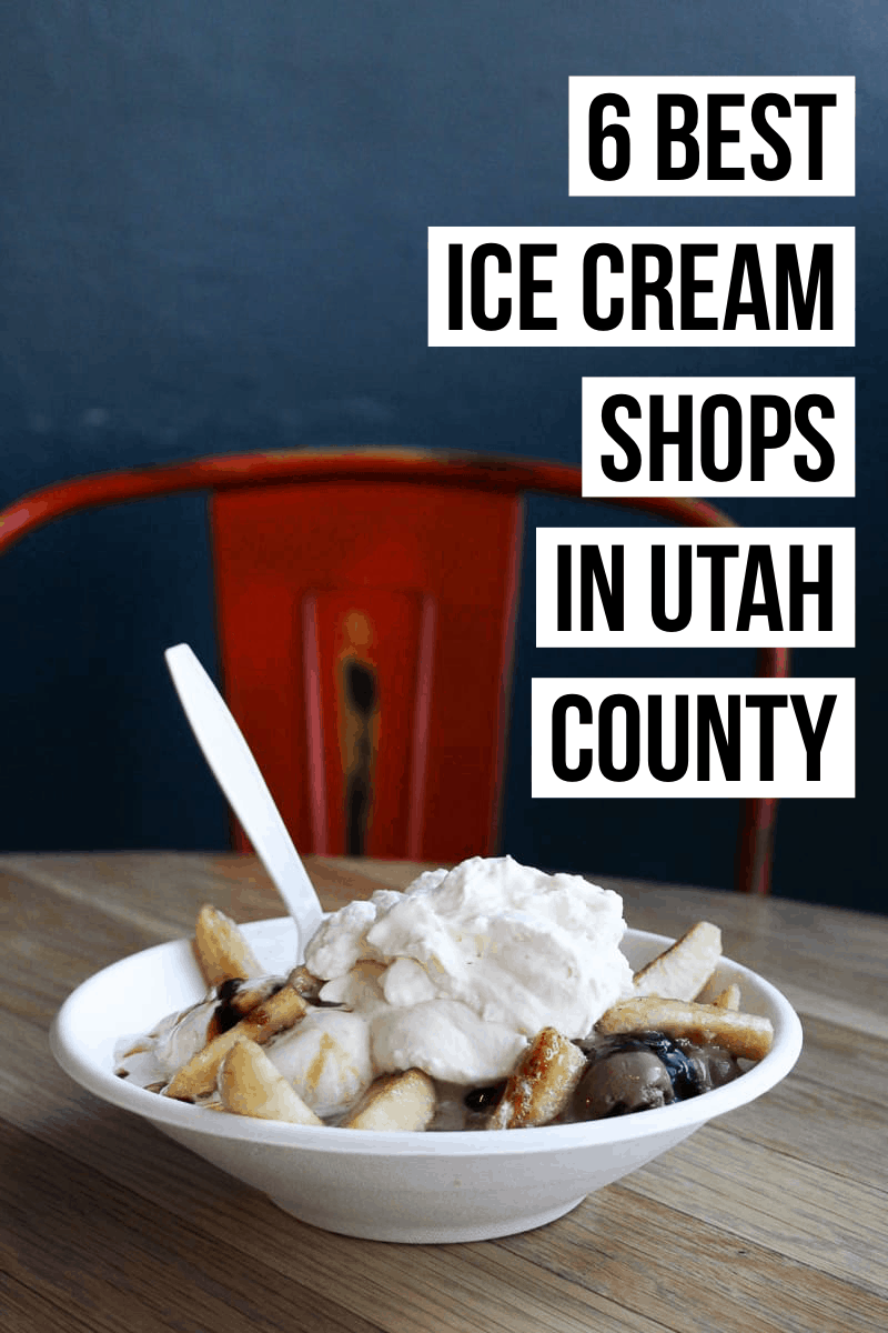 Looking for the best gourmet scoop in your area? We have you covered with a list of the 6 top places to go for the best ice cream in Utah County!