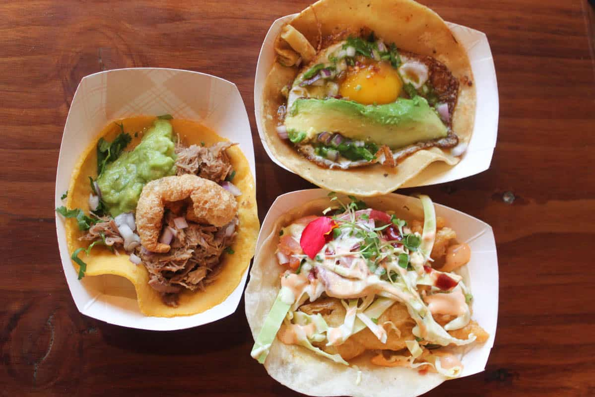 tacos from City Tacos