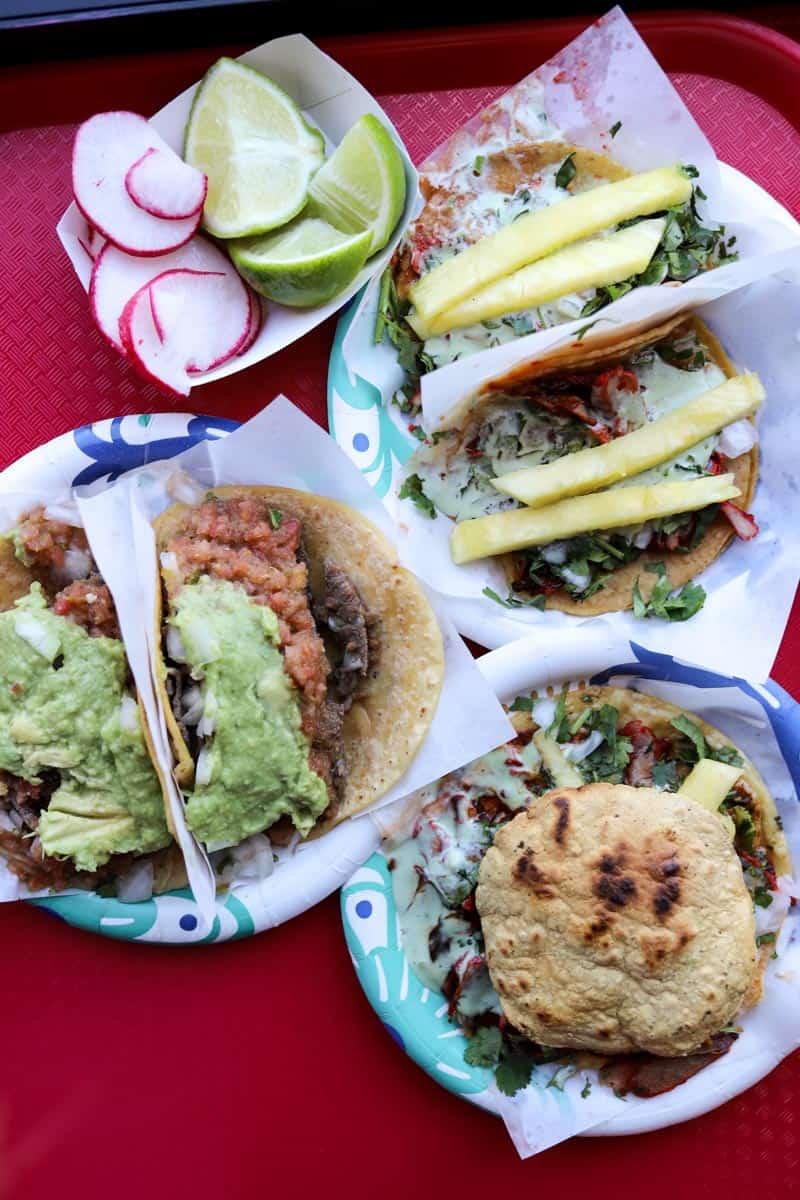 tacos from Tacos El Gordo