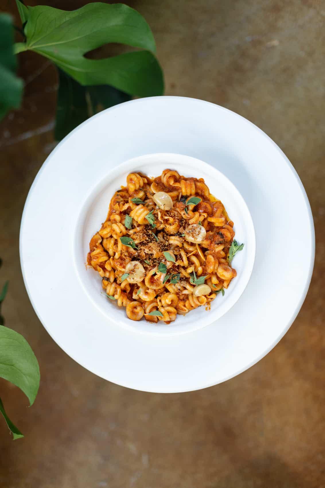 Carrot Bolognese Funghetto