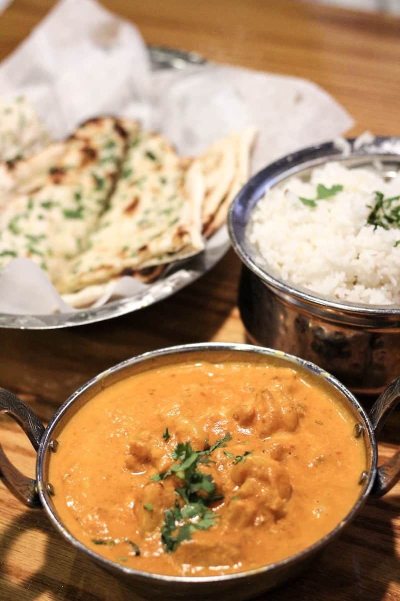 Bombay House food, one of the best Provo restaurants
