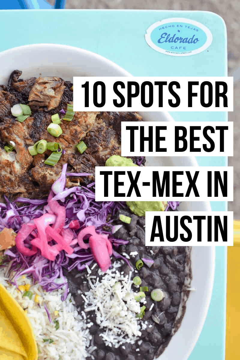 Whether you're in search of tacos, tamales, or tortilla soup, we're here to help you find the absolute best Tex-Mex in Austin!