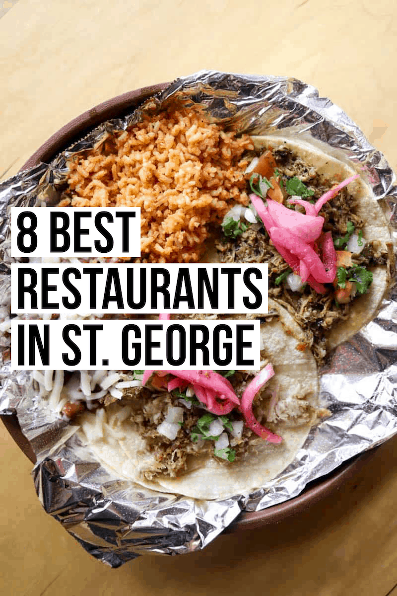 The 8 best St. George restaurants: a guide to the places actually worth eating at in St. George, Utah