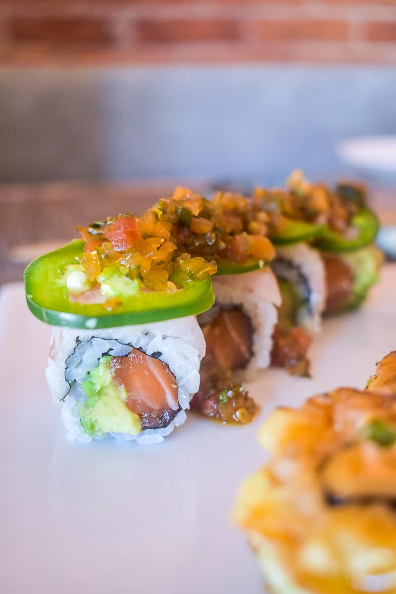 sushi from Sushi Hachi