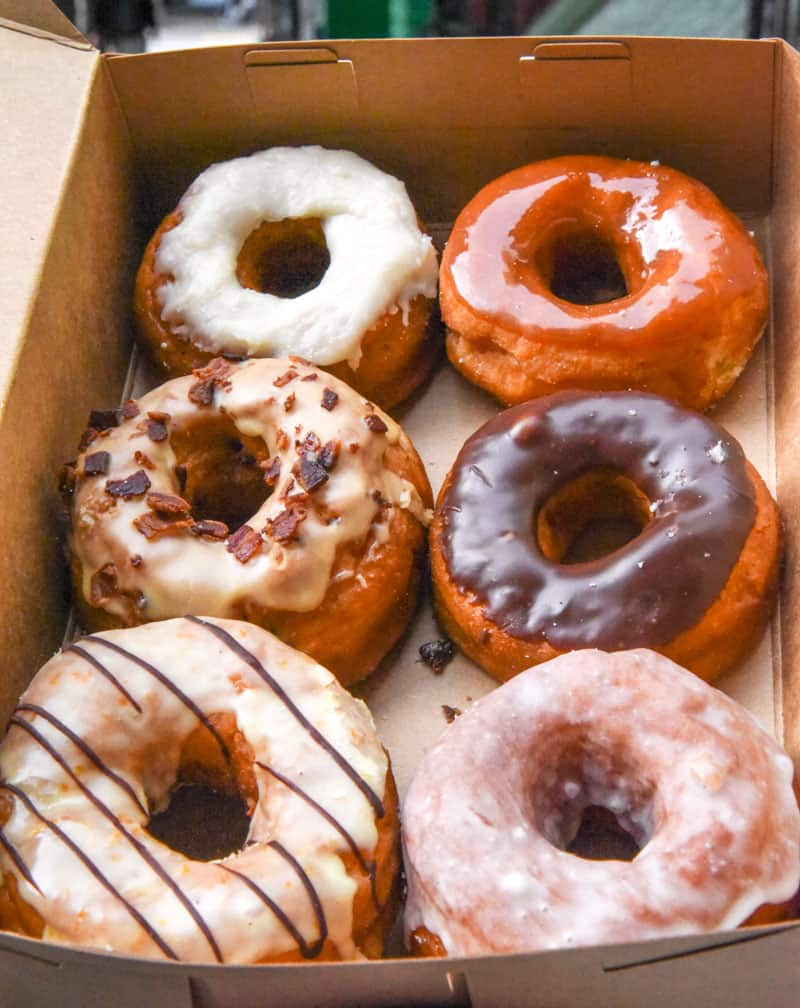 donuts from Dynamo Donuts San Francisco