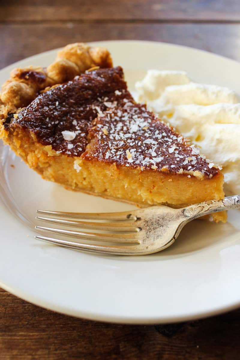 The Four & Twenty Blackbirds Salty Honey Pie Recipe is one that you'll never forget. Iconic to NYC and sure to please anyone who likes a good slice of pie.