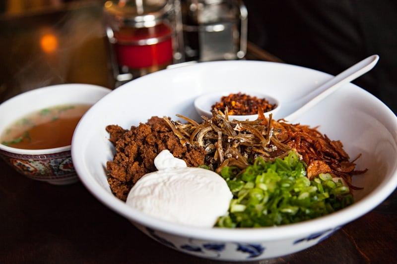 Chili Pan Mee from Kedai Makan
