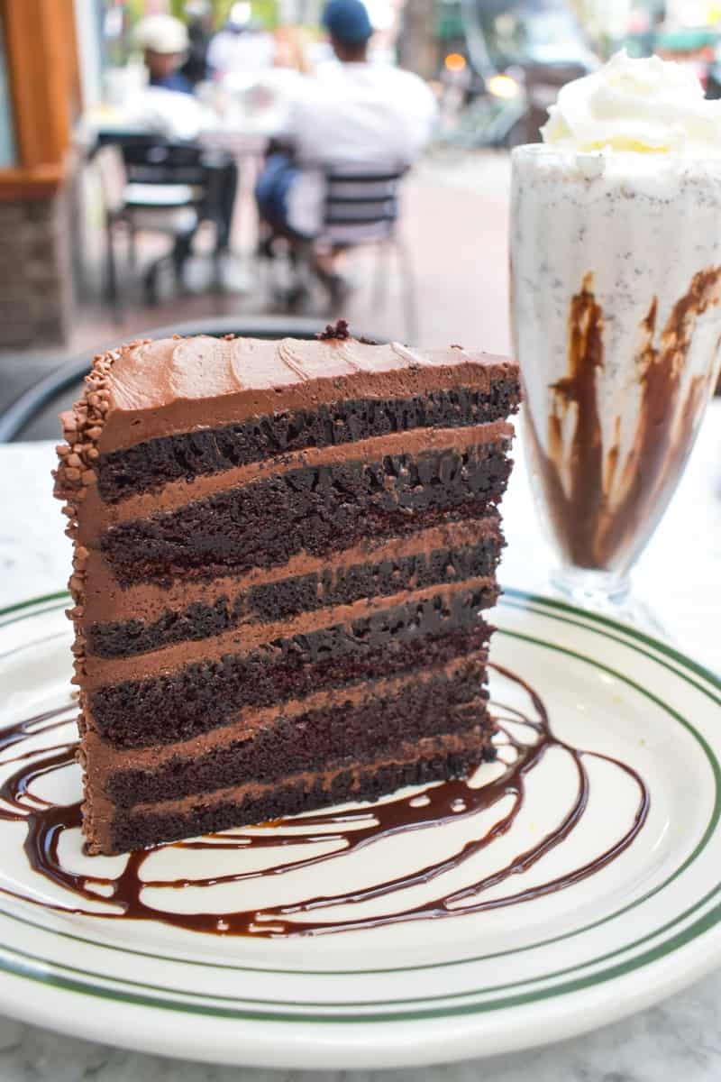 Double Chocolate Devil's Food Cake from Ted's Bulletin