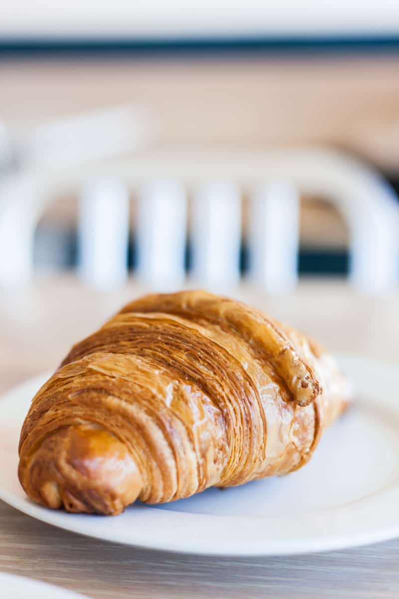 croissant from Bakery Lorraine