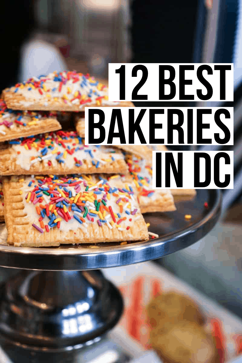 From croissants to cheesecakes, cupcakes, and chocolate, we've rounded up the very best bakeries in DC for you to work (eat) your way through!