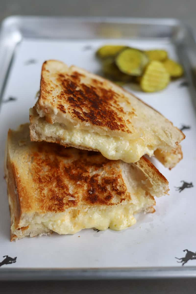 Cowgirl Creamery Classic Grilled Cheese Recipe