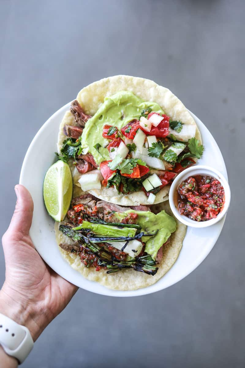 Los Tacos No. 1 Carne Asada Taco Recipe