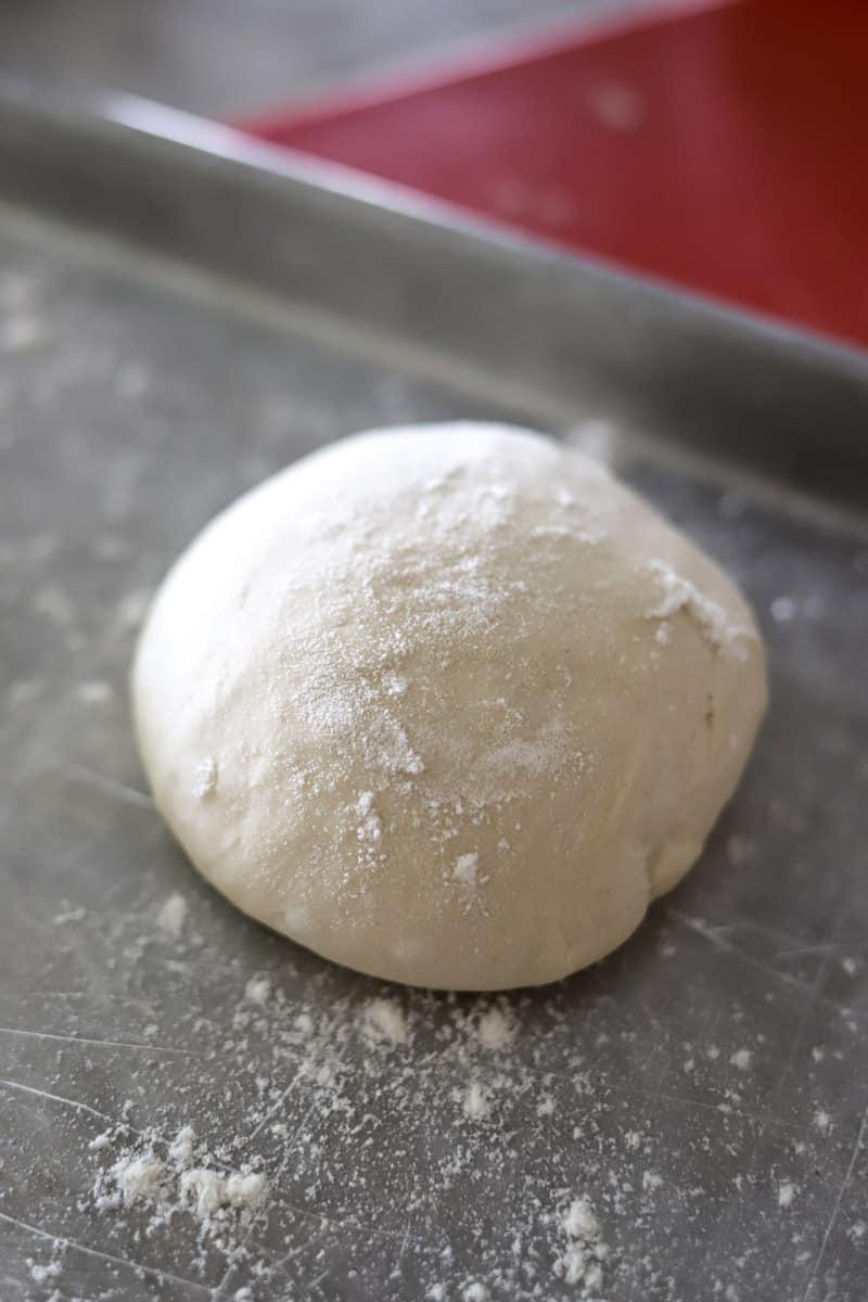 margherita pizza dough ball