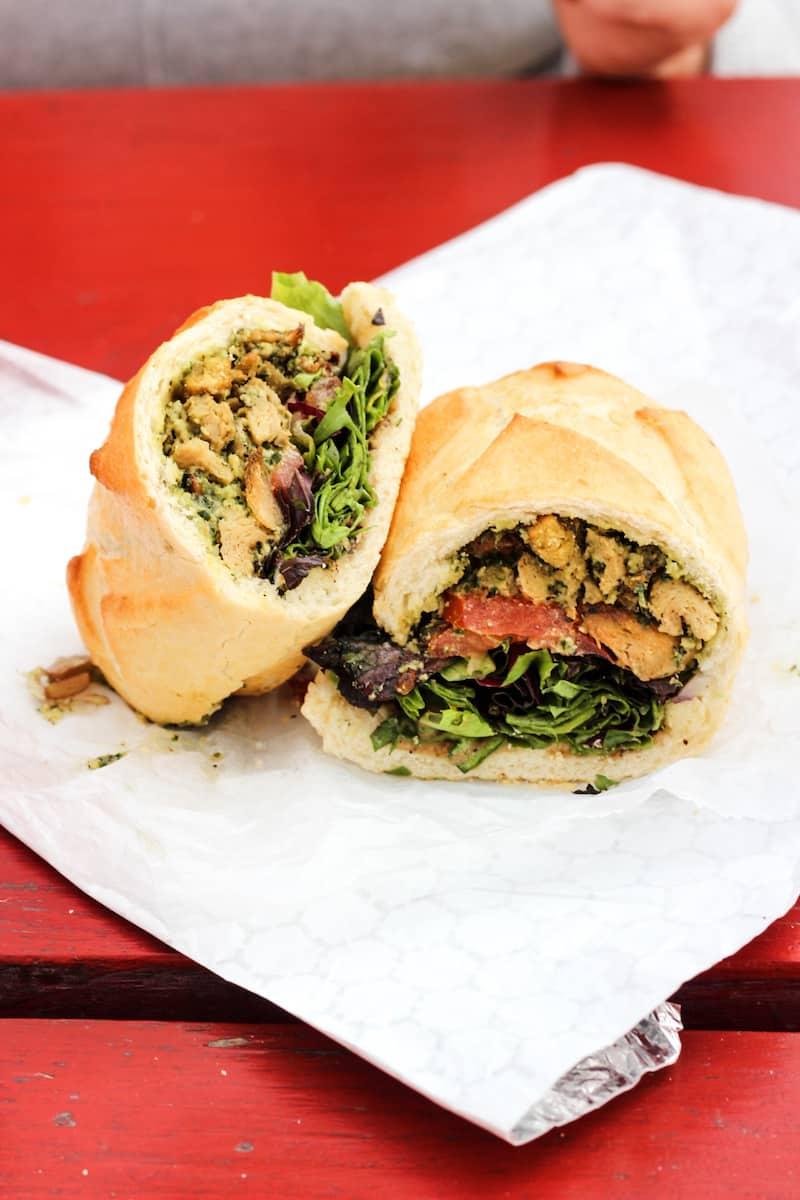 sandwich from Buds