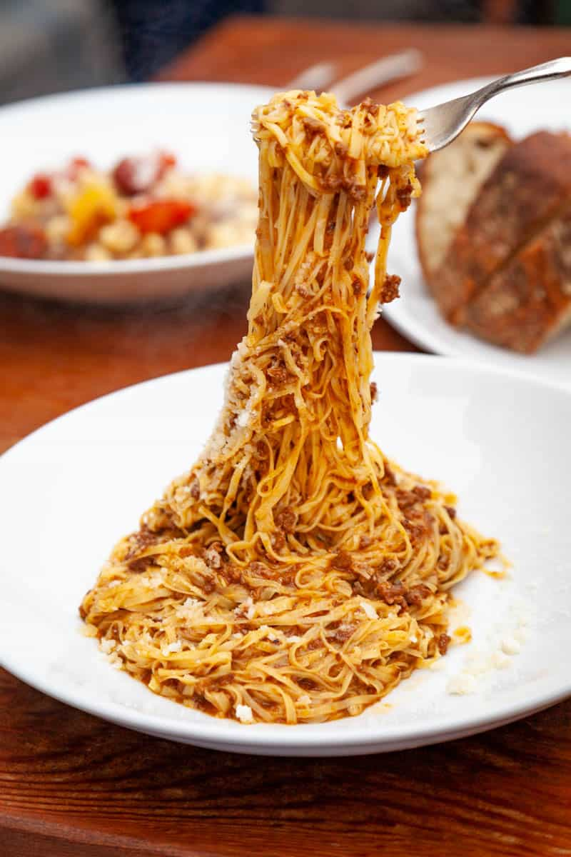 pasta from Cascina Spinasse