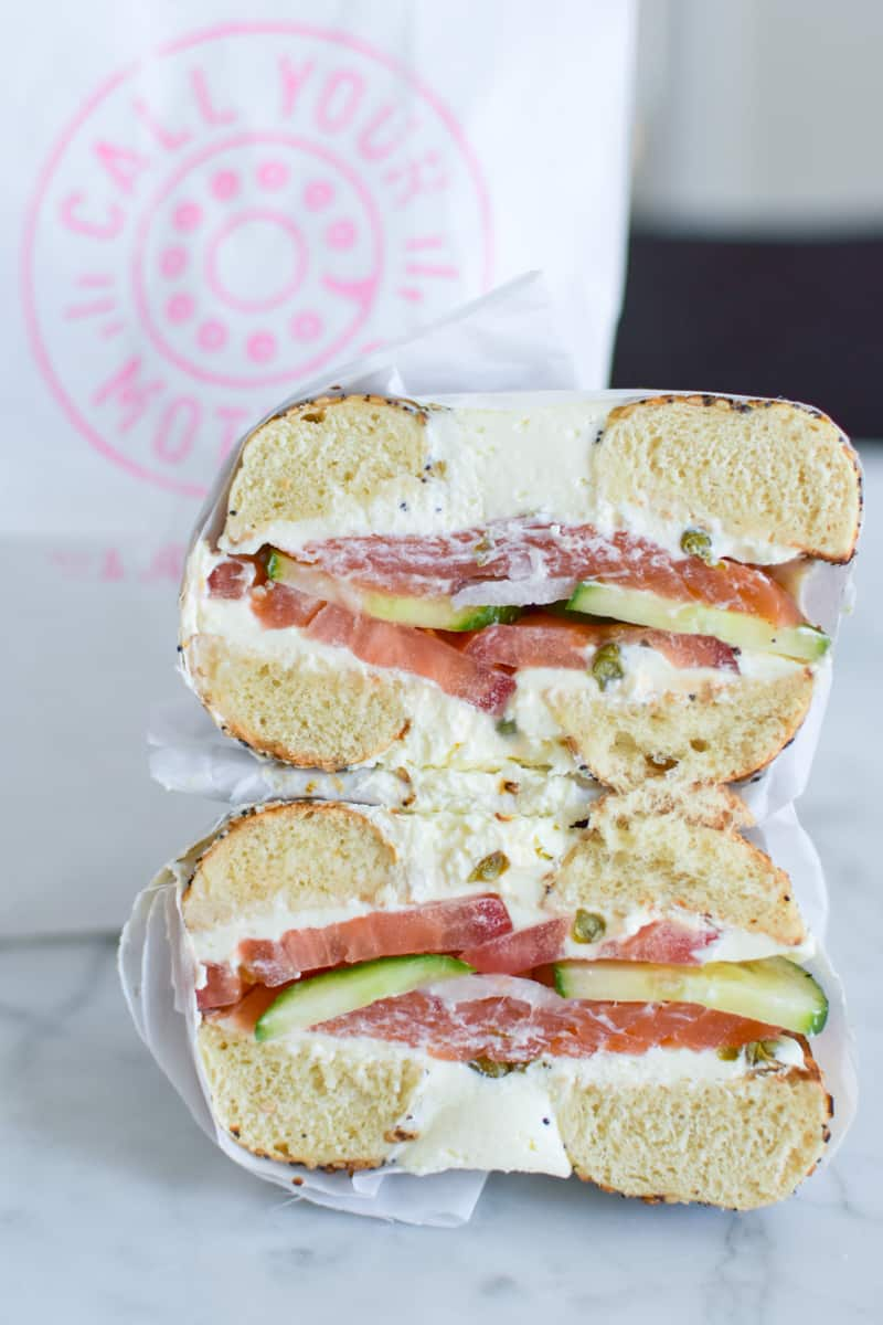 The Royal Palm Sandwich from Call Your Mother Deli