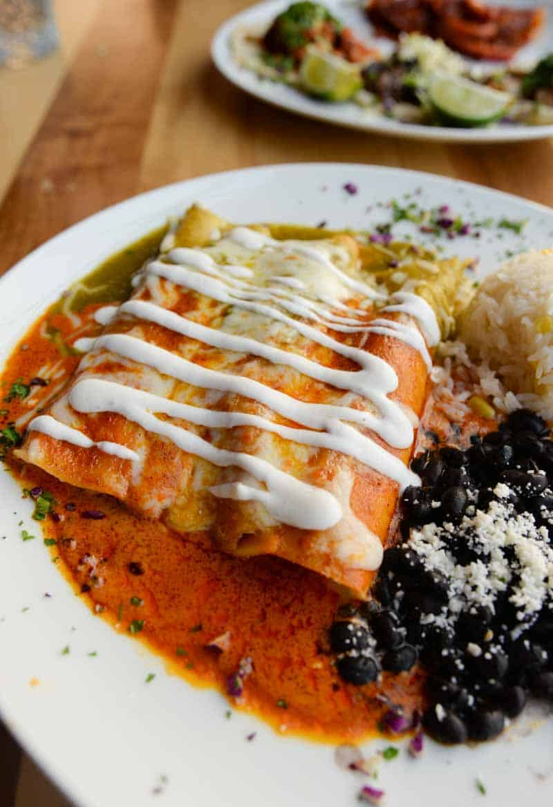 tacos from Casa Corazon