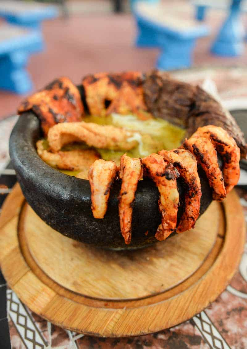 molcajete from Mariscos Playa Hermosa
