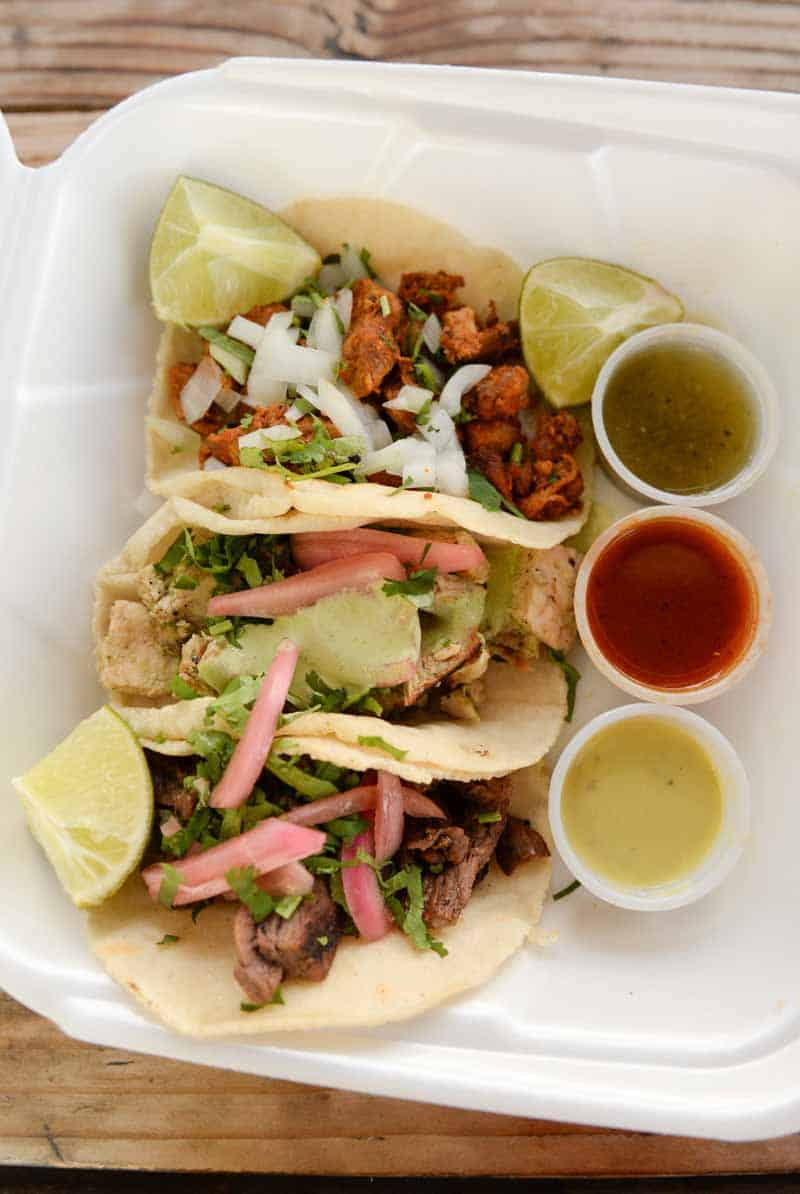 tacos from Tacos Chiwas