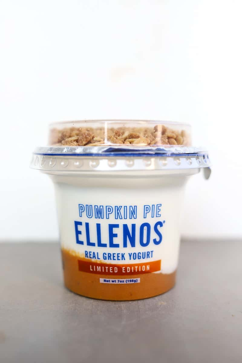 Ellenos real greek yogurt pumpkin pie yogurt