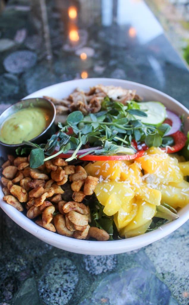 salad from Ginger's Garden Café