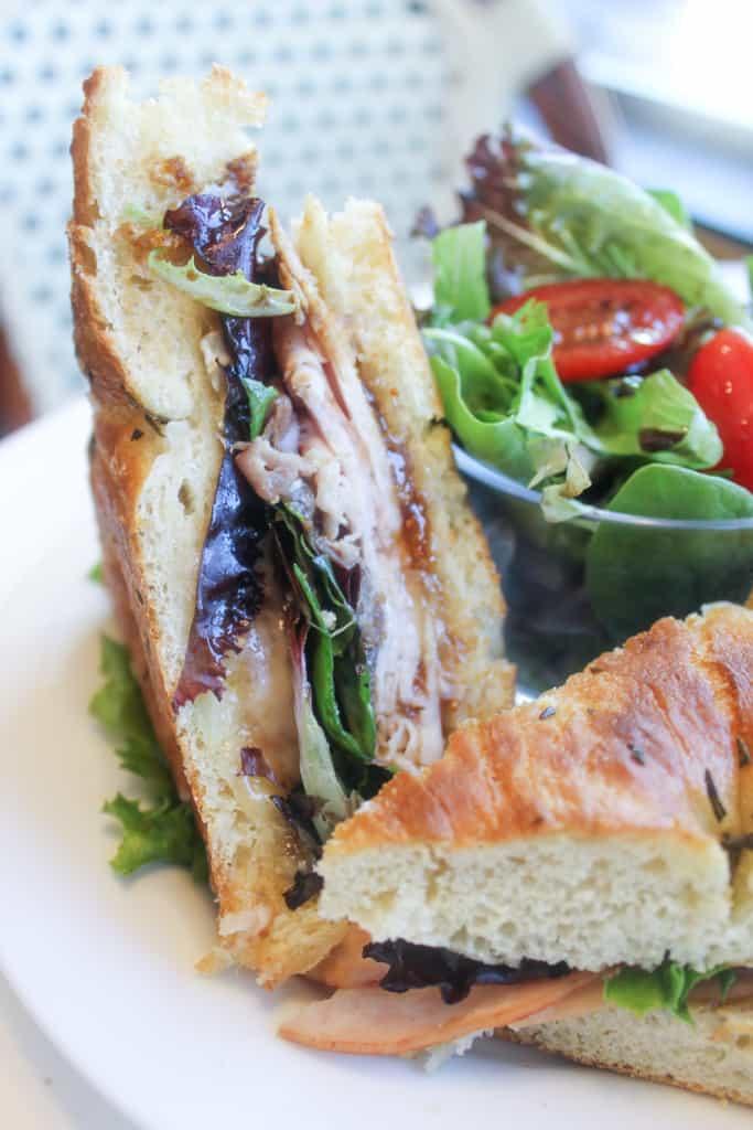 turkey prosciutto sandwich from Taste