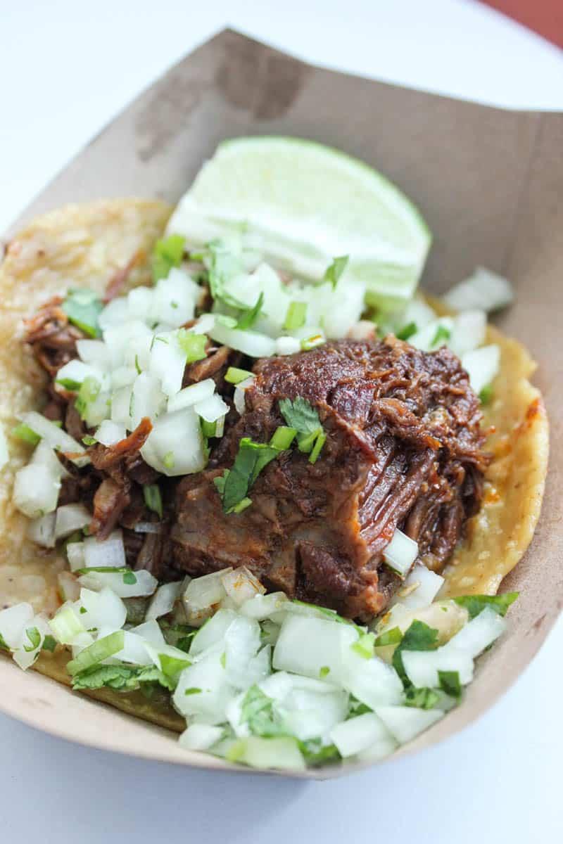 tacos from Borrachito
