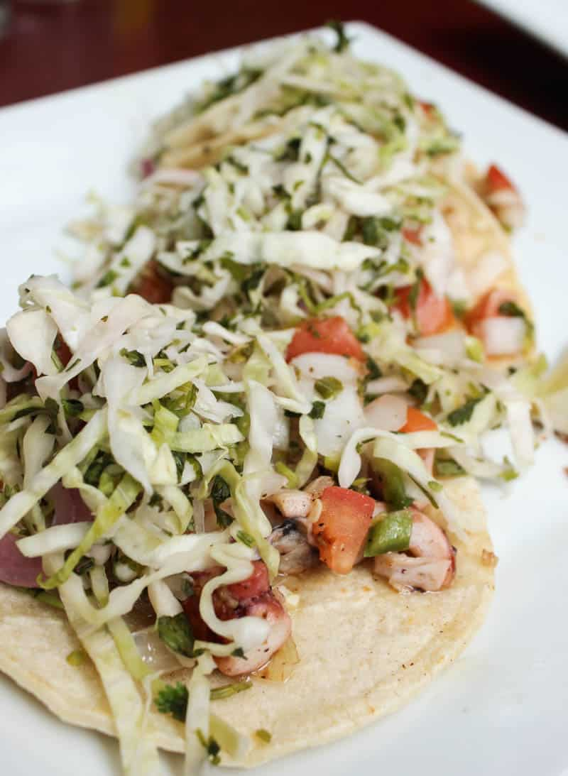 tacos from El Paso Taqueria