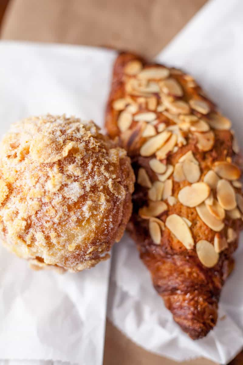 pastries from Fuji Bakery