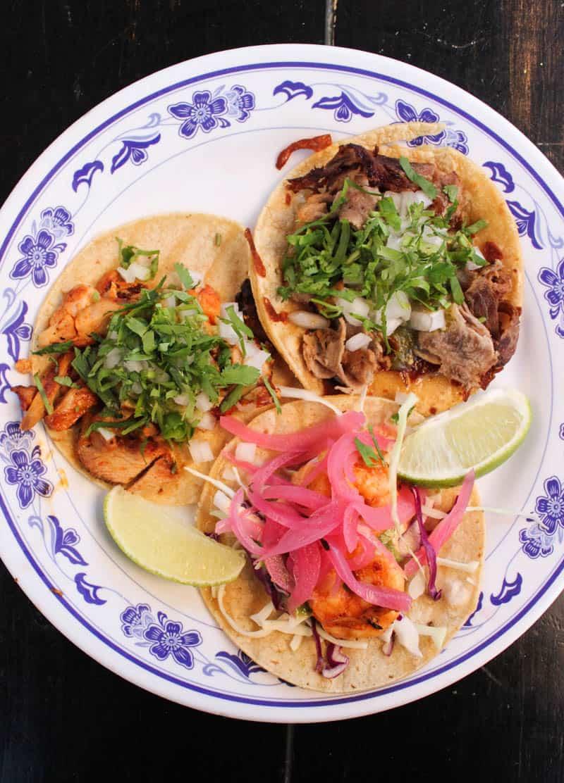 tacos from La Esquina