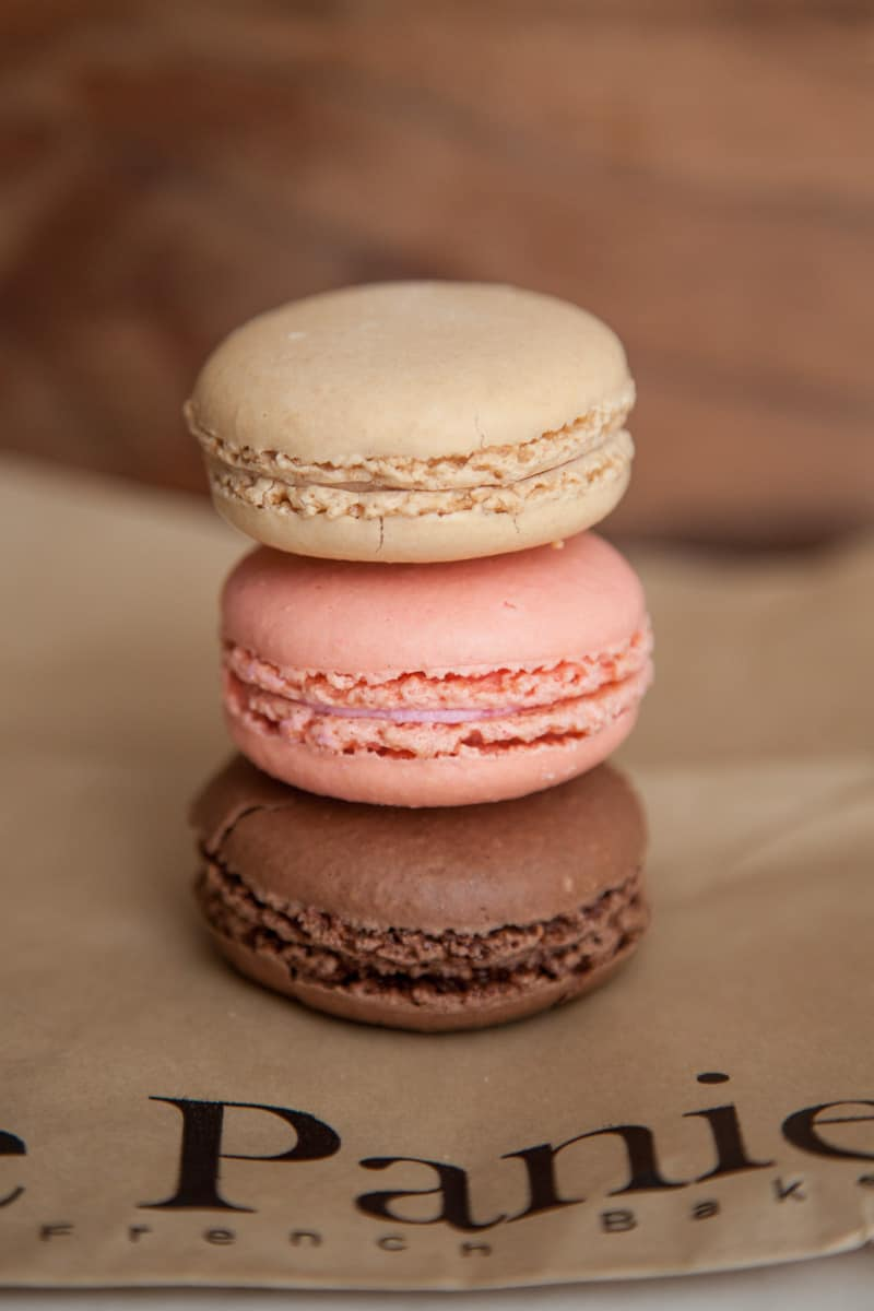 macarons from Le Panier