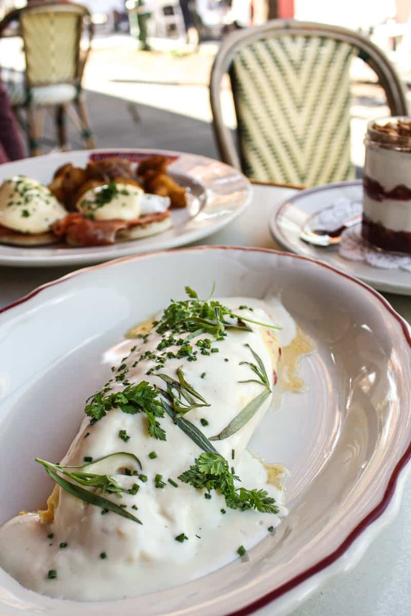 brunch from Le Diplomate