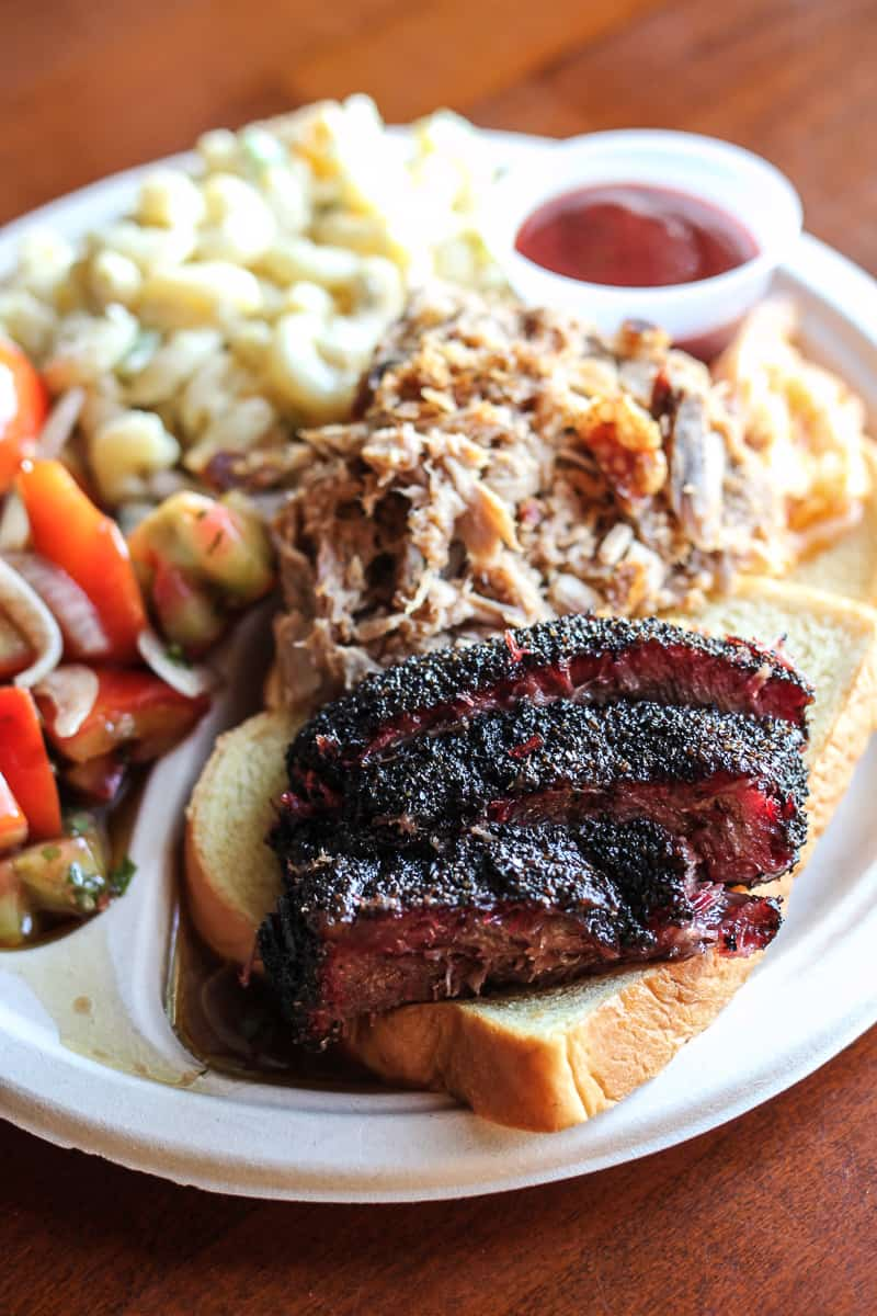 bbq from LeRoy and Lewis Barbecue