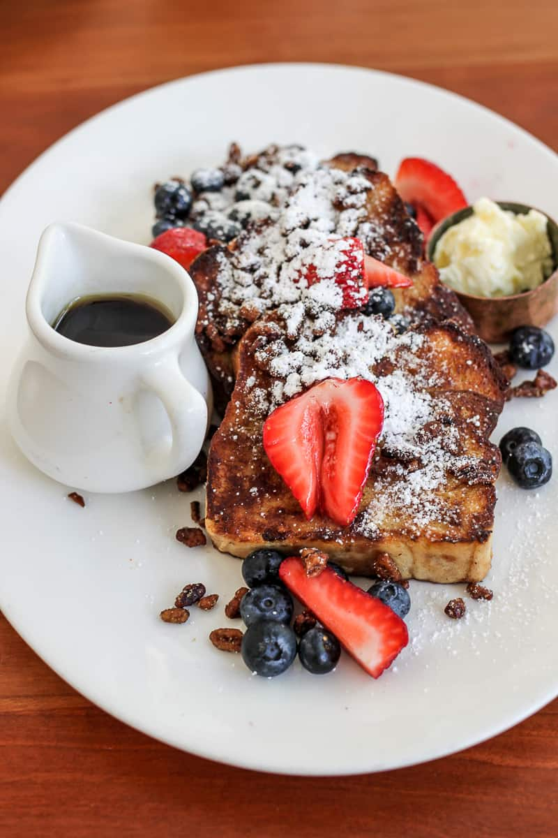 french toast from Mattie's