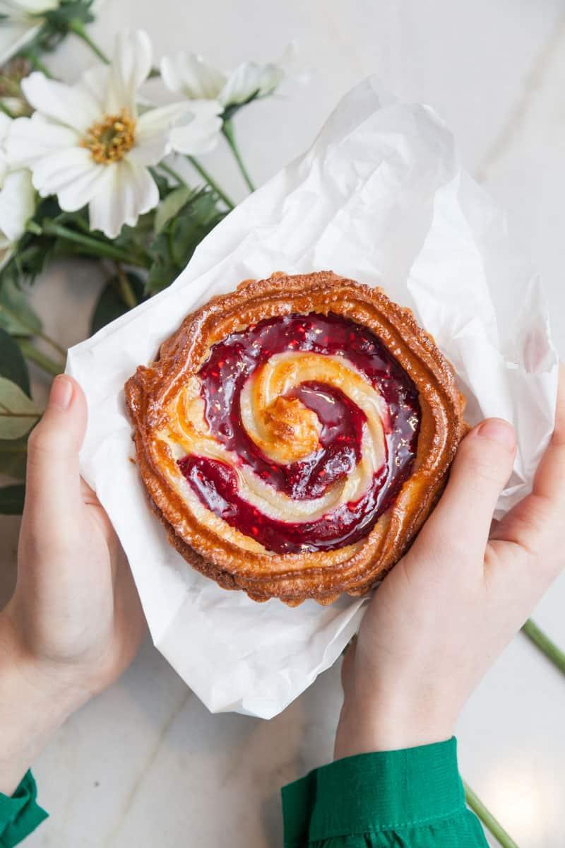 pastry from Byen Bakeri