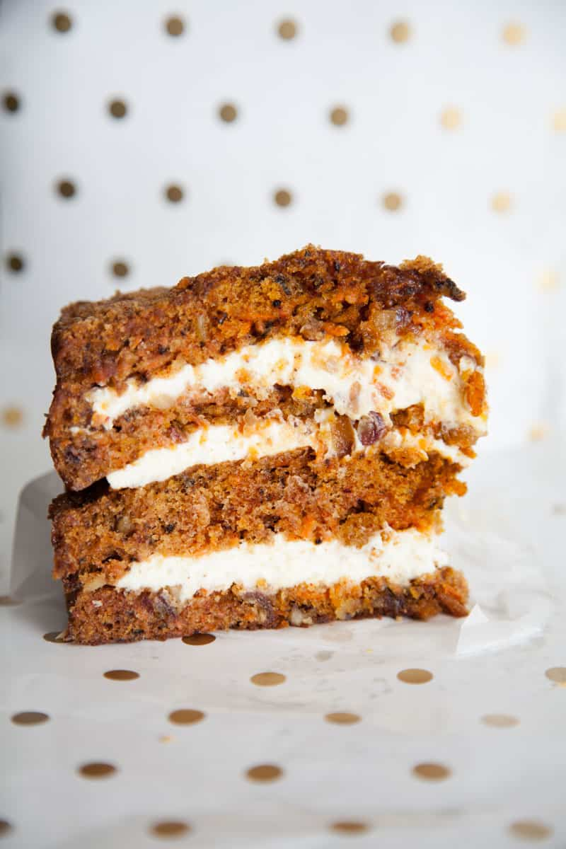 carrot cake from Coyle's Bakeshop