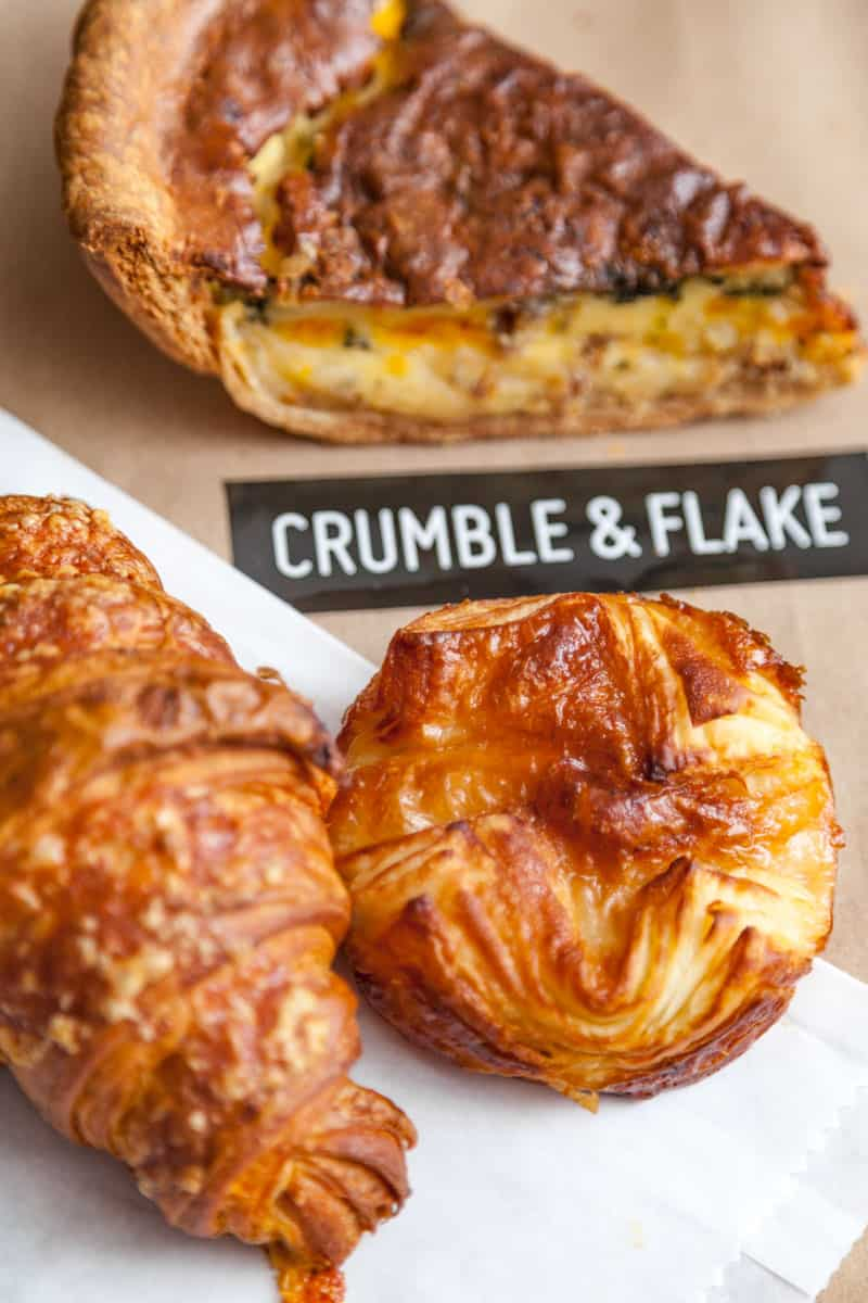 pastries from Crumble & Flake Patisserie