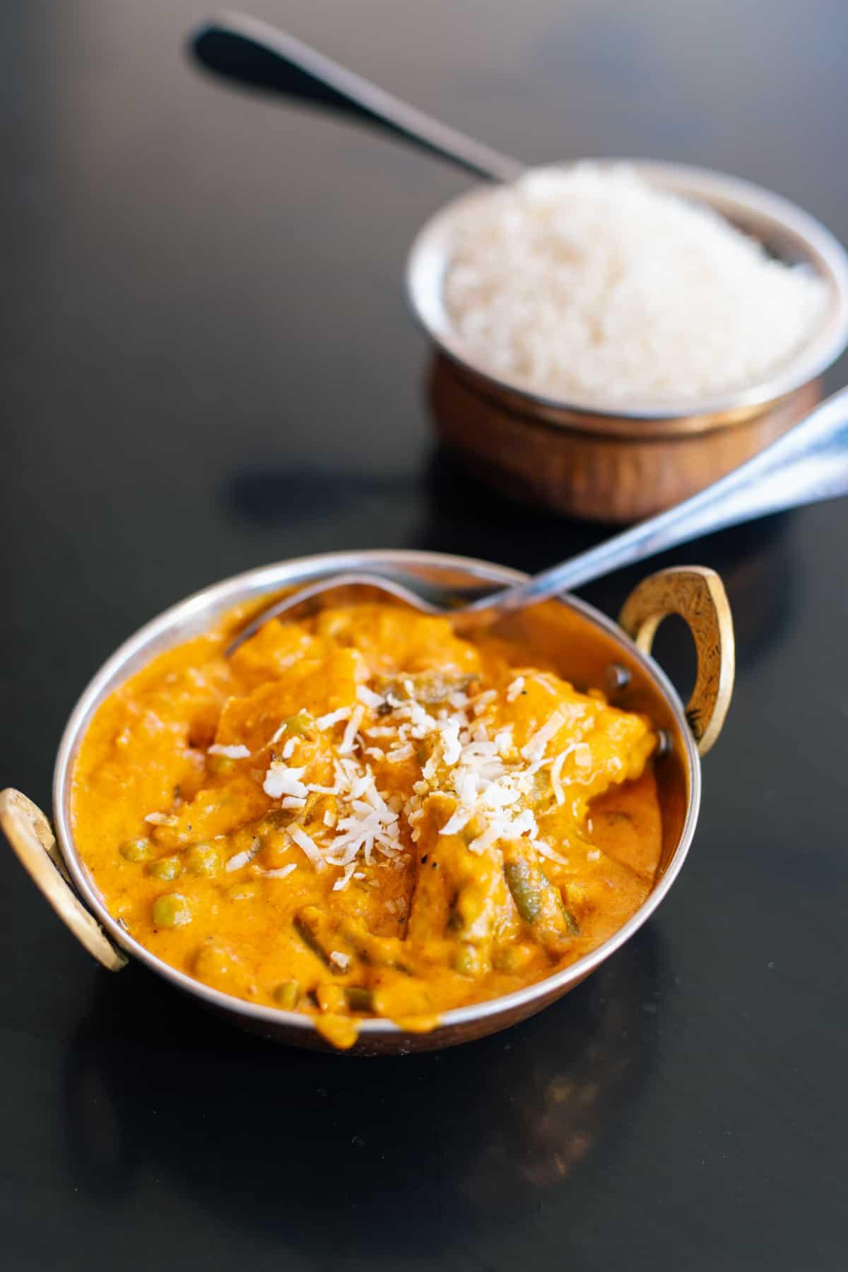 Vegetarian Saptarangi Korma from Himchuli