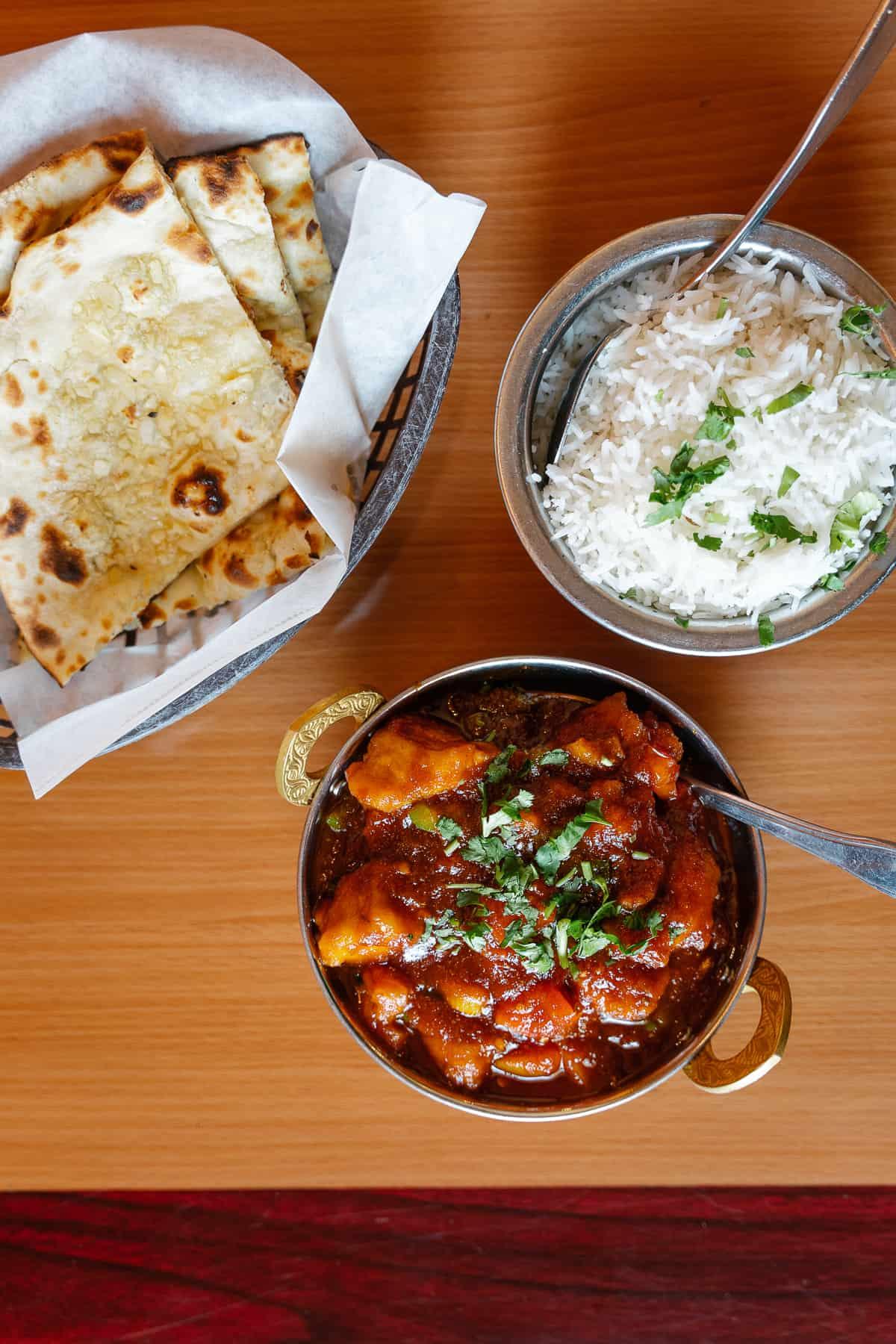 Honey Chicken Curry from Yak & Yeti Arvada