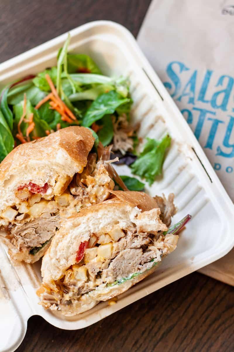 sandwich from Sala & Betty