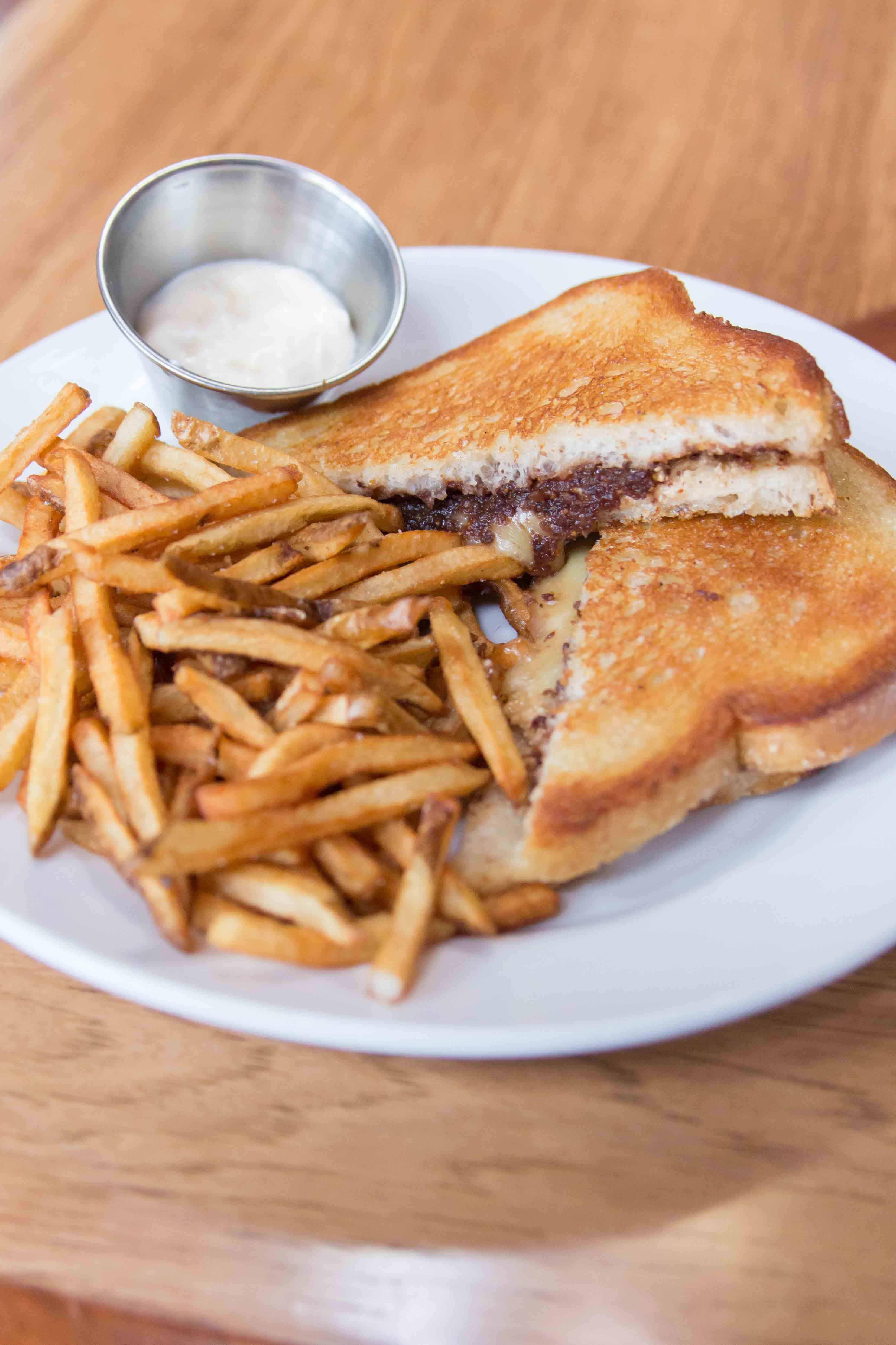 sandwich from Hopleaf