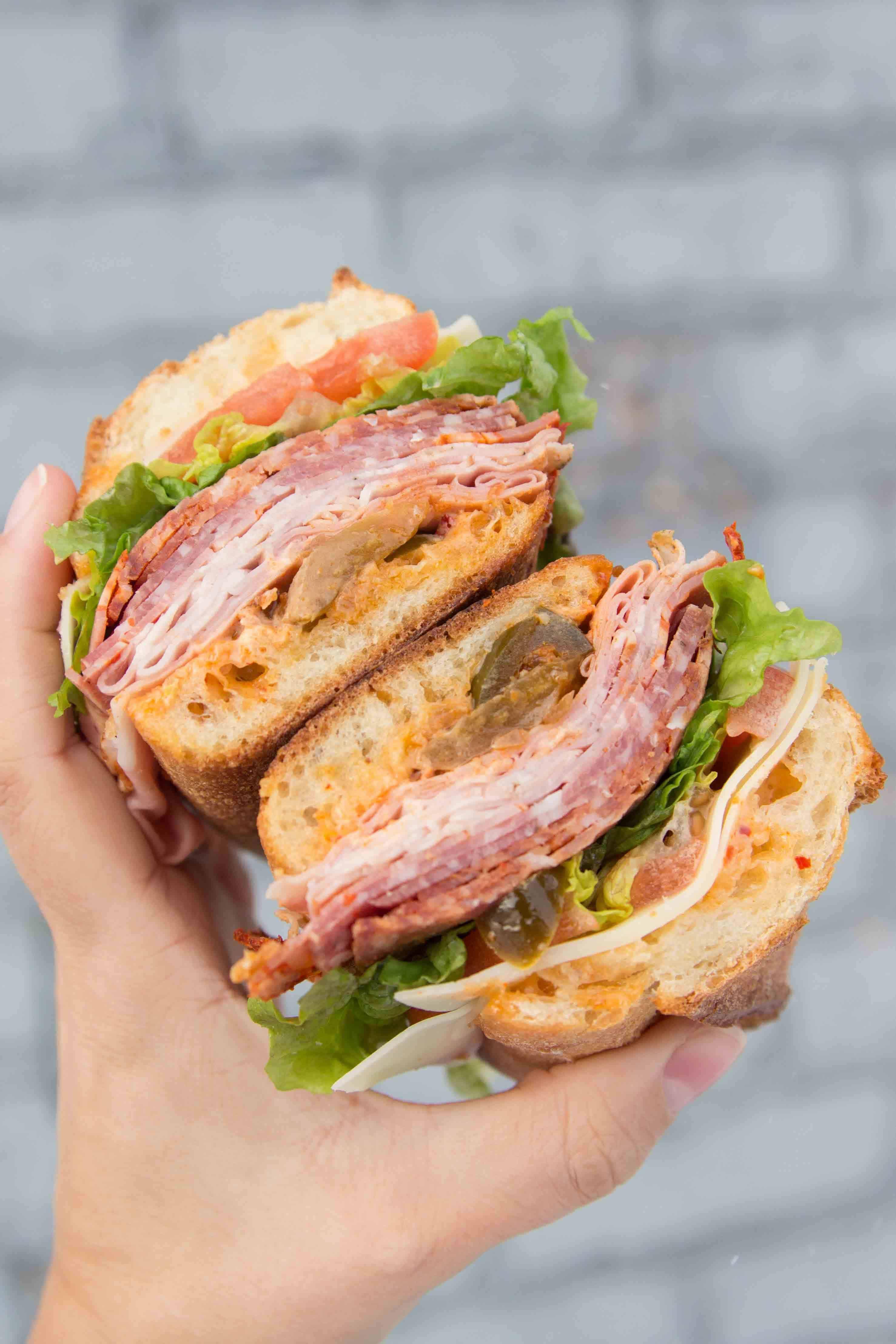 sandwich from Tempesta Market