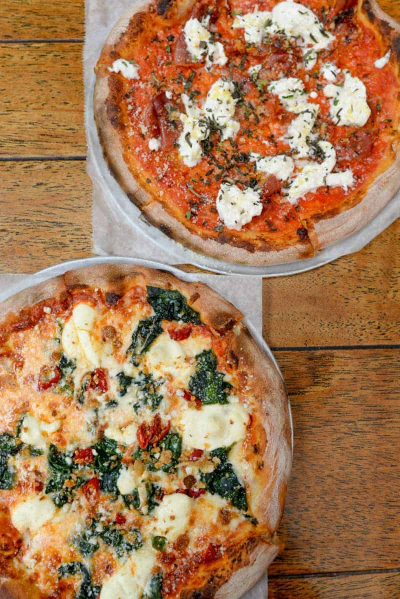 pizza from The Parlor