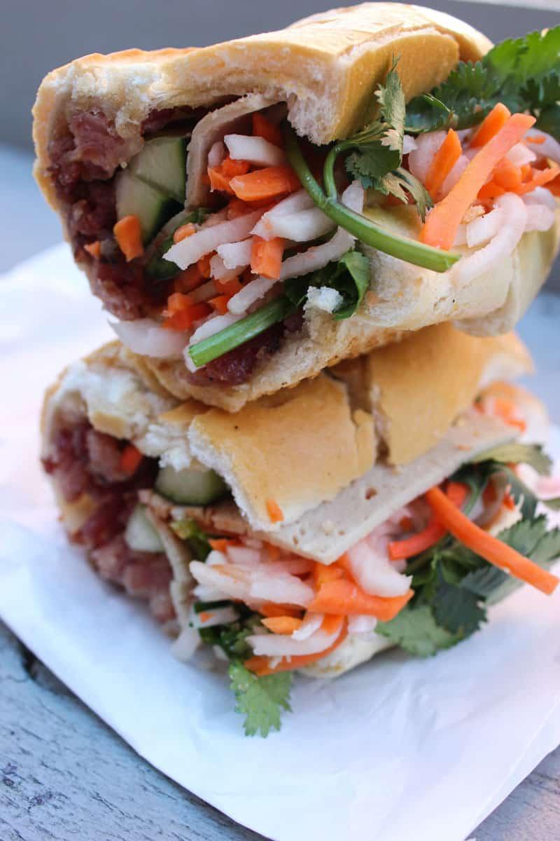 sandwich from Banh Mi Saigon